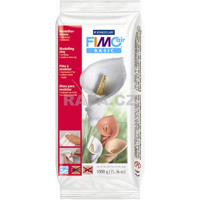 Hmota FIMO AIR BASIC 1000g - biela