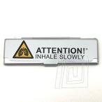 Box na cigaretov� papieriky KS Attention! Inhale Slowly