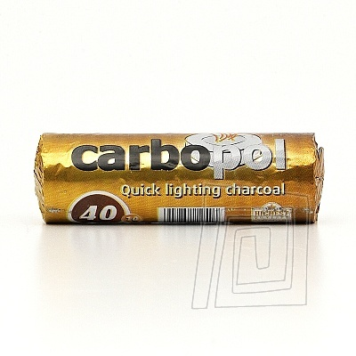 Uhl�ky do vodnej fajky Carbopol 40 mm