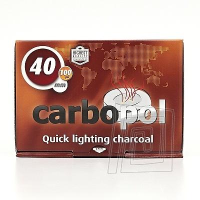 Uhl�ky do vodnej fajky Carbopol 40 mm 1 x 10
