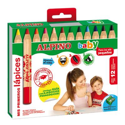 Ceruzky Alpino Baby 12ks + str�hatko