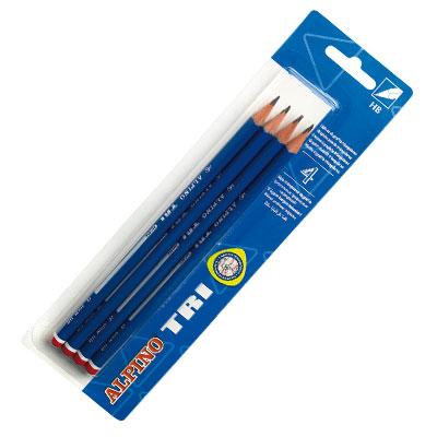 Ceruzky Alpino Junior grafitov� HB 4ks