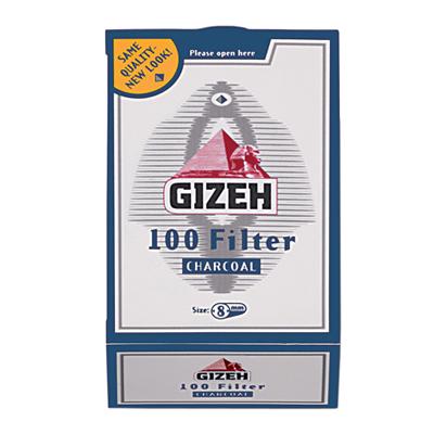 Cigaretov� filtre Gizeh Charbon 100ks