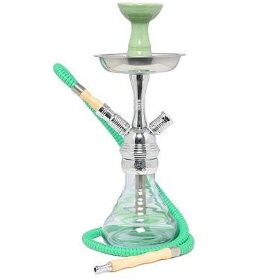 Vodn� fajka Boost HQ Green Transparent Vipe 34 cm