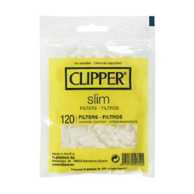 Cigaretov� Filtre Clipper slim 120ks
