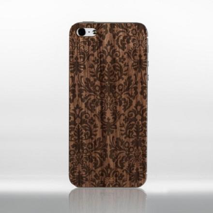 Dreven� sticker Legno na iPhone 4/4S ornamenty 4 Dub bahenn�
