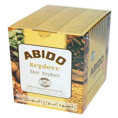 Sahlab Abido Spices Box 10 x 100g